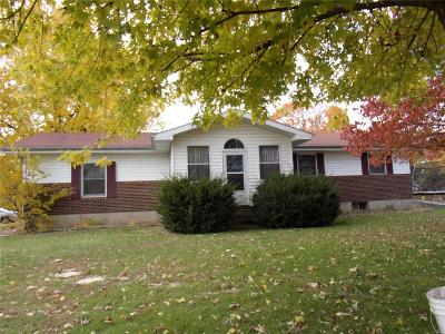 Monroe County, Ralls County Single Family Home For Sale: 65780 Red Barn Rd