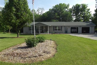 Monroe City MO Single Family Home For Sale: $174,900