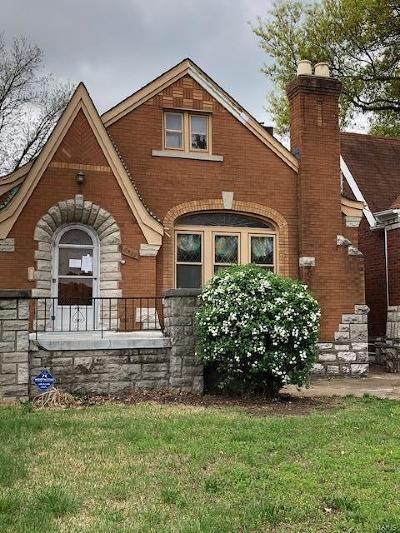 St Louis Single Family Home Contingent Short Sale: 6322 Chippewa