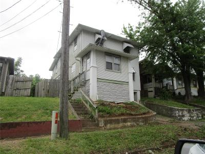 Hannibal MO Single Family Home For Sale: $37,500