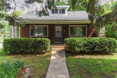 St Louis Single Family Home For Sale: 8763 Burton Avenue