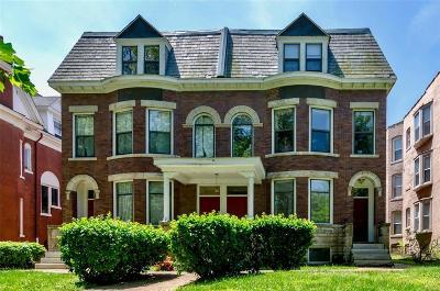 St Louis Condo/Townhouse For Sale: 4366 West Pine Boulevard #A