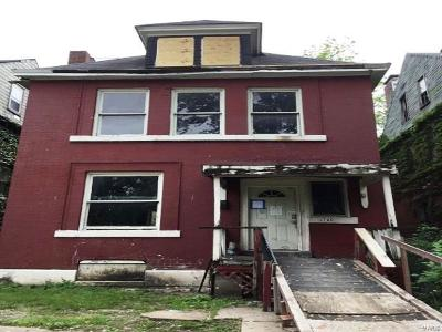 St Louis City County Single Family Home For Sale: 4720 Vernon Avenue