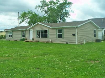 Hannibal MO Single Family Home For Sale: $82,500
