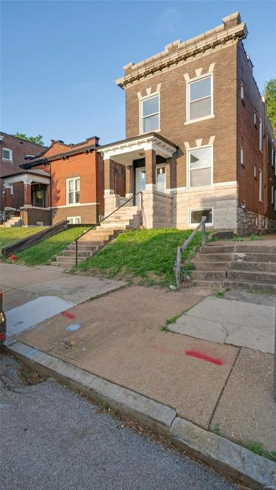 St Louis City County Single Family Home Coming Soon: 2626 Alhambra