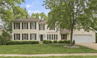 Chesterfield MO Single Family Home For Sale: $389,900