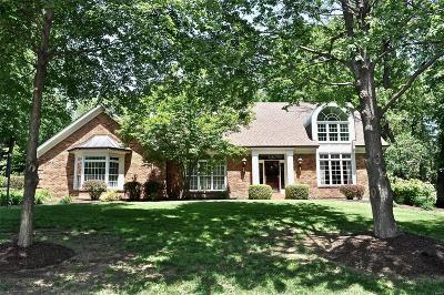 St Louis City County, St Louis County Single Family Home For Sale: 23 Deer Creek Woods