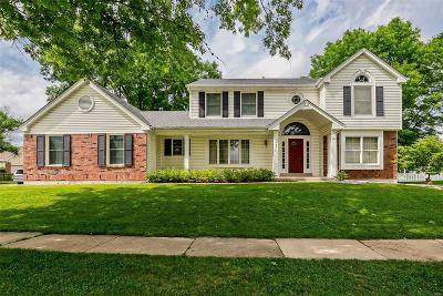 St Louis Single Family Home For Sale: 2661 Cripple Creek Drive