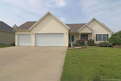 Cape Girardeau County Single Family Home For Sale: 225 Pleasant Lake