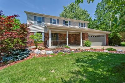 St Louis Single Family Home For Sale: 13049 Winding Trail Lane