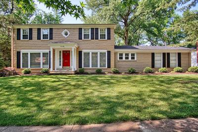 St Louis City County, St Louis County Single Family Home For Sale: 13140 Greenbough Drive