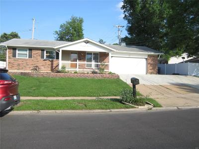 St Louis City County, St Louis County Single Family Home For Sale: 4600 Crestline