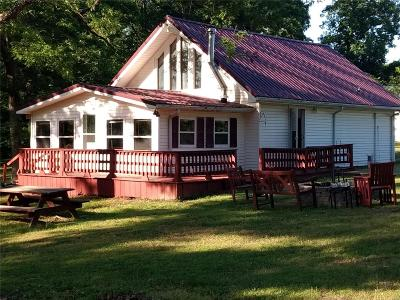 Monroe City MO Single Family Home For Sale: $120,000
