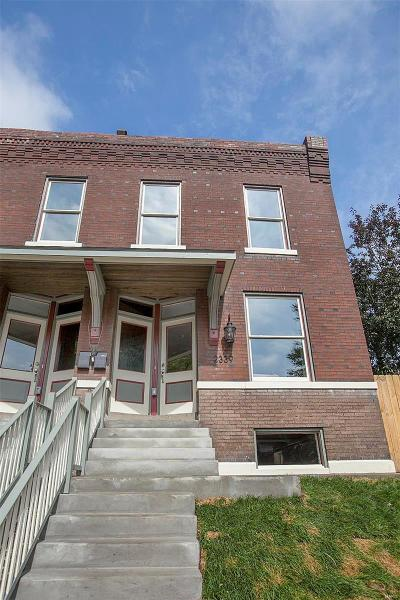 St Louis City County Single Family Home For Sale: 2339 South 11th