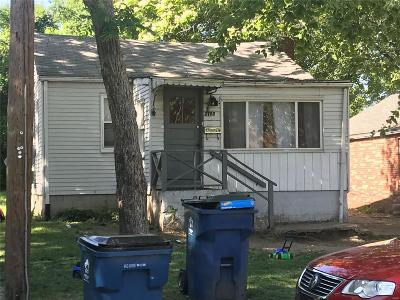 Alton IL Single Family Home For Sale: $19,500