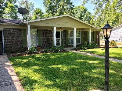 Single Family Home For Sale: 5624 Piasa Trail