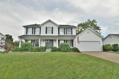 Dardenne Prairie Single Family Home Contingent No Kickout: 6 Green Heron Court