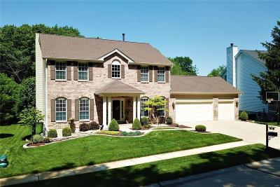 Ballwin Single Family Home Contingent No Kickout: 385 Gateford Drive