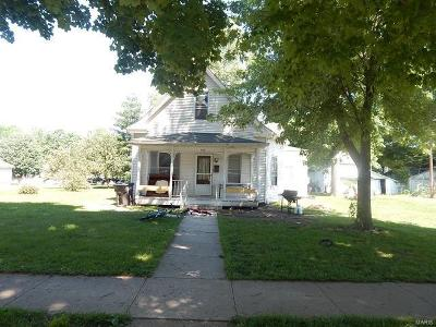 Jerseyville Single Family Home For Sale: 513 West Pine Street
