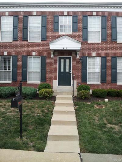 Ellisville Condo/Townhouse For Sale: 419 Parkview Place Drive