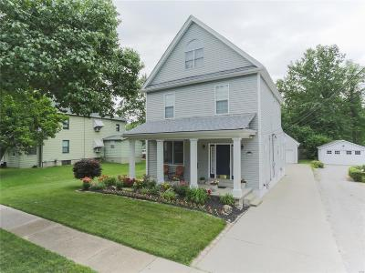 Single Family Home For Sale: 3356 Oxford