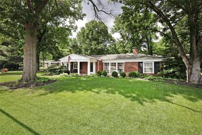 Ladue Single Family Home For Sale: 9901 Conway Road