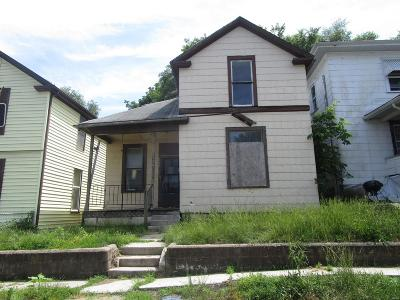Hannibal MO Single Family Home For Sale: $7,500
