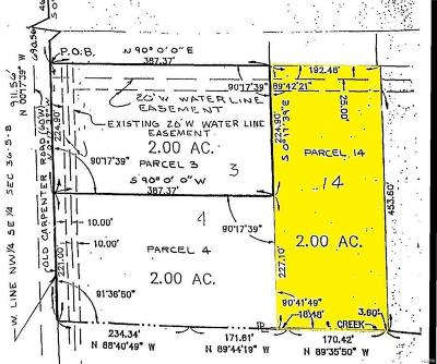 Edwardsville Residential Lots & Land For Sale: Fields Creek Lot 14
