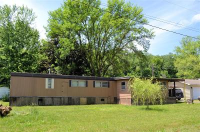 Monroe City, Paris, Perry, Stoutsville, Center, New London, Vandalia Single Family Home For Sale: 13949 Riverview Drive