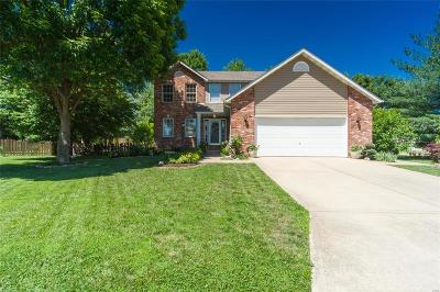 Edwardsville Single Family Home For Sale: 6801 Quail Walk