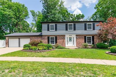 Chesterfield Single Family Home For Sale: 343 Ridge Trail Dr