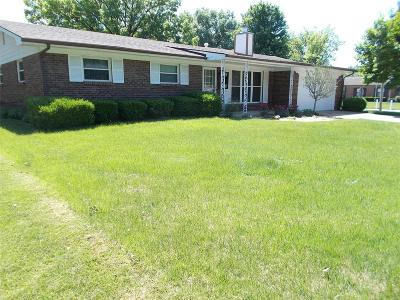 Belleville IL Single Family Home For Sale: $125,000