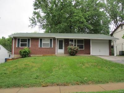 Maryland Heights Single Family Home For Sale: 2667 Bennington Place