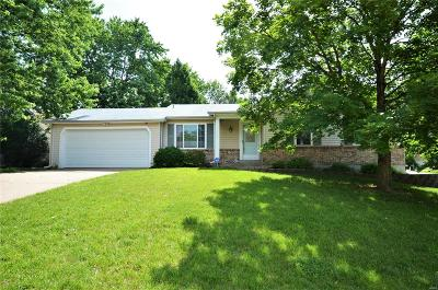 O'Fallon MO Single Family Home Contingent No Kickout: $169,900