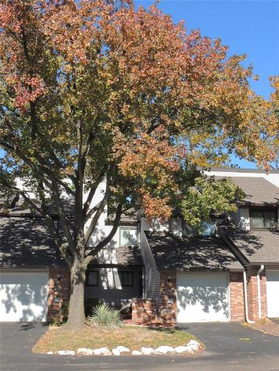 St Louis MO Condo/Townhouse For Sale: $162,000