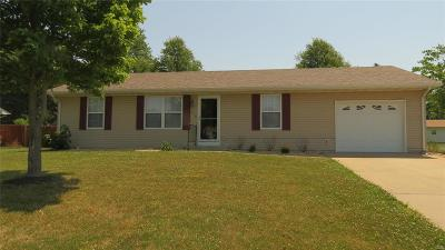 Montgomery City MO Single Family Home For Sale: $140,000