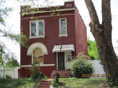 St Louis City County Single Family Home For Sale: 4228 East Page
