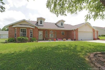 Cape Girardeau County Single Family Home For Sale: 3955 Scenic Drive