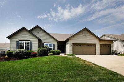 O'Fallon Single Family Home For Sale: 1213 Valley Pass Drive