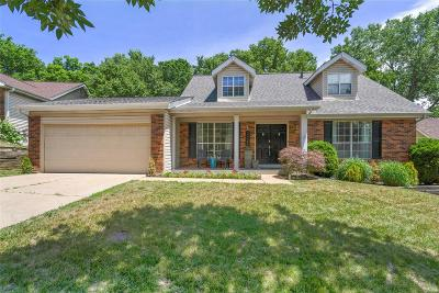Wildwood Single Family Home For Sale: 2422 Maple Crossing Drive