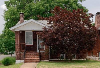 St Louis City County Single Family Home Contingent Short Sale: 5237 Tennessee Avenue