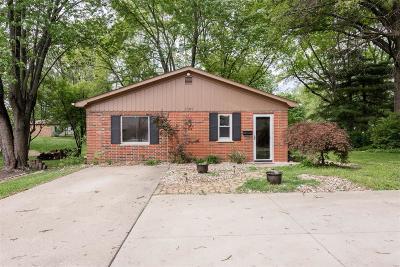 Belleville Single Family Home For Sale: 1721 West Boulevard