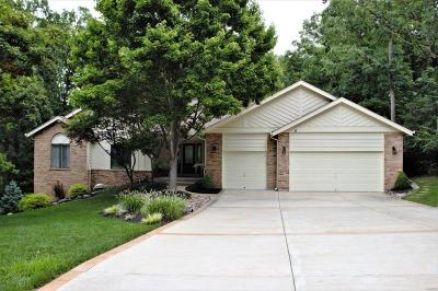 Wildwood Single Family Home For Sale: 512 Eagles Nest Court