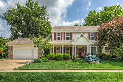 Ellisville Single Family Home For Sale: 538 Autumn Oaks Drive