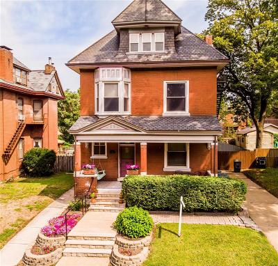 St Louis Single Family Home For Sale: 3651 Castleman Avenue