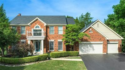 Wildwood Single Family Home For Sale: 2632 Chatham Place Court
