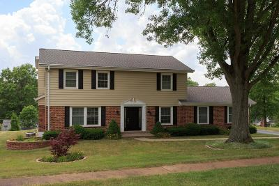 Ballwin Single Family Home For Sale: 411 Sunnyslope Drive