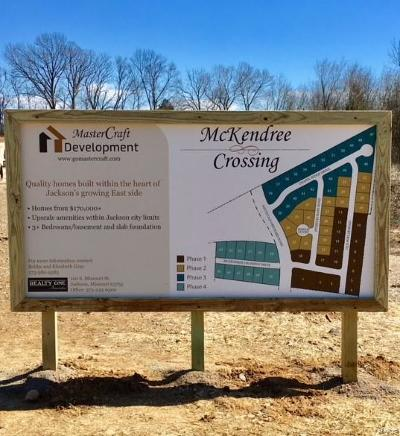 Cape Girardeau County Residential Lots & Land For Sale: 9 McKendree Crossing