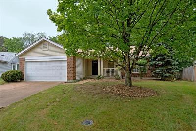 Ballwin Single Family Home For Sale: 369 Woodrun Drive