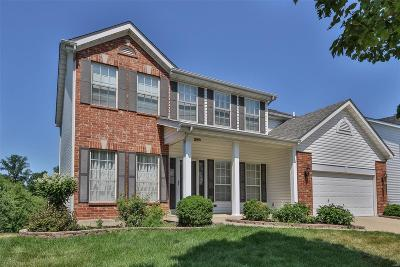 Ballwin Single Family Home For Sale: 372 Carr Manor Court